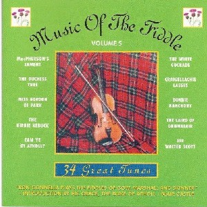 Ron Gonnella - Music of the Fiddle Volume 5