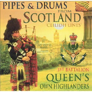 Queen's Own Highlanders - Pipes and Drums from Scotland