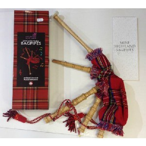 Junior - Junior Playable  Bagpipes - Royal Stewart