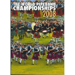Various Pipe Bands - 2008 World Pipe Band Championships - Volume 2