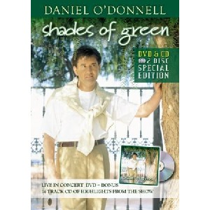 Daniel O'Donnell - Shades of Green (Dvd & Cd)